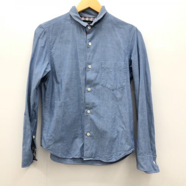 期間限定の激安セール シップスジェットブルー SHIPS JET BLUE 表記サイズ:S シャツ ブラウス 国内在庫 中古 カジュアルシャツ 裏地チェック柄 USED 10025586 古着 長袖シャツ