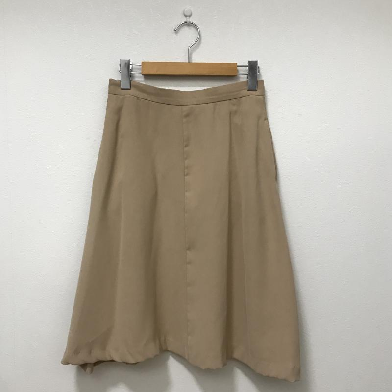 エンネア Ennea 表記サイズ:38 ベージュ 格安SALEスタート 無地 ひざ丈スカート スカート Skirt 古着 Medium USED 中古 10028383 新作入荷