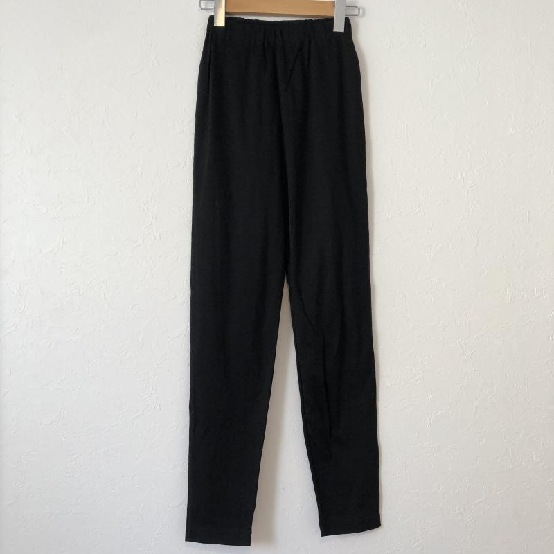 ソニアリキエル SONIA RYKIEL 表記サイズ:XS 人気上昇中 黒 ブラック 全商品オープニング価格 無地 スラックス パンツ Pants 中古 レギンス イージーパンツ Trousers 10029098 USED 古着 Slacks ストレッチ