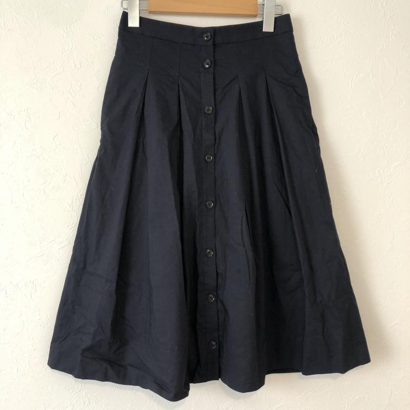 バナナリパブリック BANANA REPUBLIC 表記サイズ:表記無し 紺 ネイビー 無地 高品質新品 X その他 スカート 10029333 販売 古着 USED ロングスカート ボタンデザインスカート Long 中古 Skirt