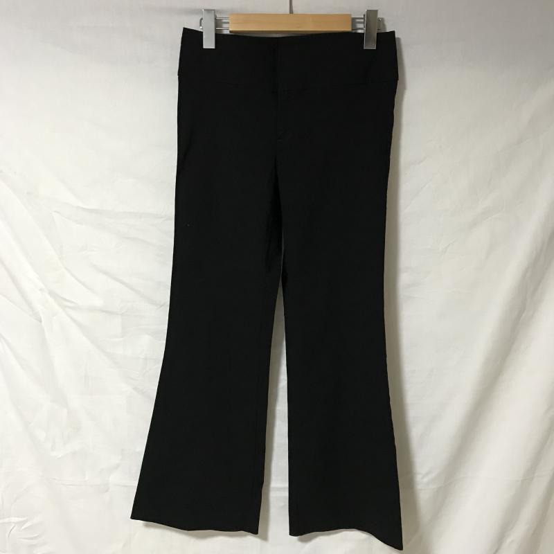 ザラベーシック ZARA BASIC 送料無料でお届けします 表記サイズ:38 黒 ブラック 無地 スラックス Trousers 10031260 USED 中古 Pants 人気 パンツ 古着 Slacks