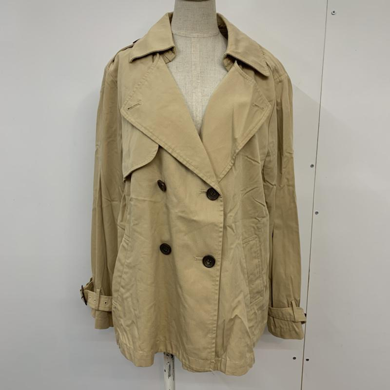 ミスティウーマン mysty woman 表記サイズ:M ベージュ 無地 ジャケット 年間定番 超激得SALE 古着 中古 10042881 Jacket ブレザー USED 上着