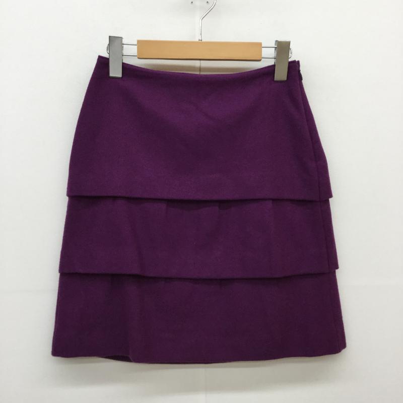 本店 プロポーションボディドレッシング PROPORTION BODY DRESSING 表記サイズ:2 紫 パープル その他 ミニスカート Short 古着 USED 大決算セール スカート 中古 Skirt 10043022 Mini
