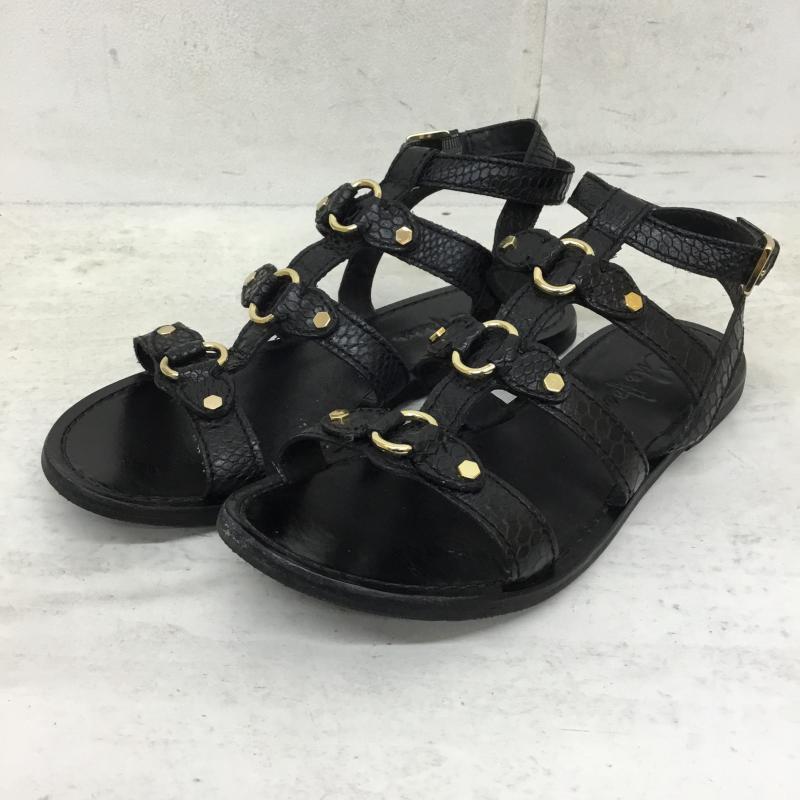 コールハーン COLE HAAN 美品 表記サイズ:US:6 2020A W新作送料無料 黒 ブラック サンダル 10049613 古着 USED Sandals 中古 グラディエーターサンダル