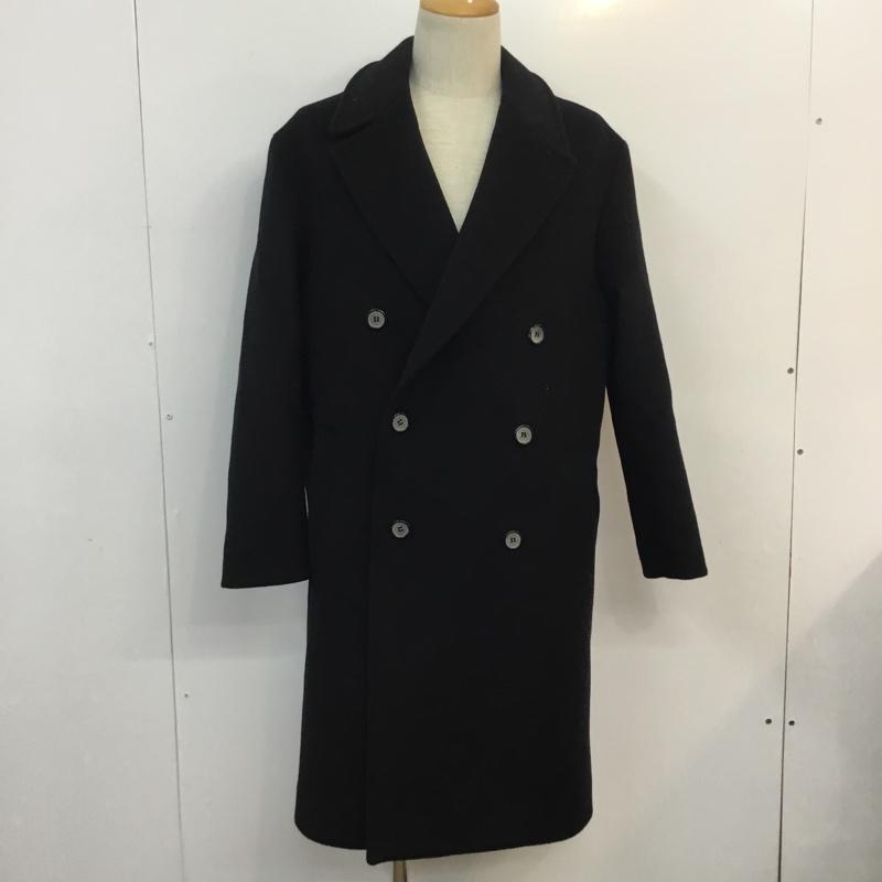 アンダースンベル ANDERSSON BELL 表記サイズ:S 紺 ネイビー 無地 ピーコート Pコート 返品不可 USED コート 古着 Coat AL完売しました 中古 10051687 CNC07FR17