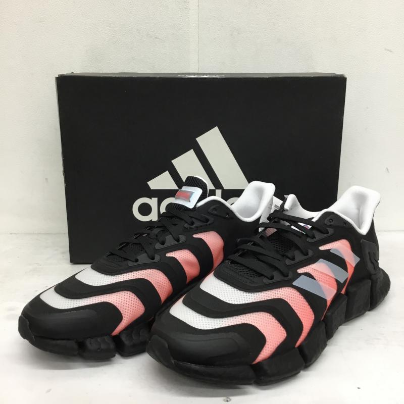 アディダス adidas 表記サイズ:27.5cm 新作送料無料 桃 ピンク X 白 ホワイト 黒 ブラック スニーカー CLIMACOOL ベント VENTO Sneakers クライマクール 10052222 今季も再入荷 USED 中古 H67636 古着 BOOST
