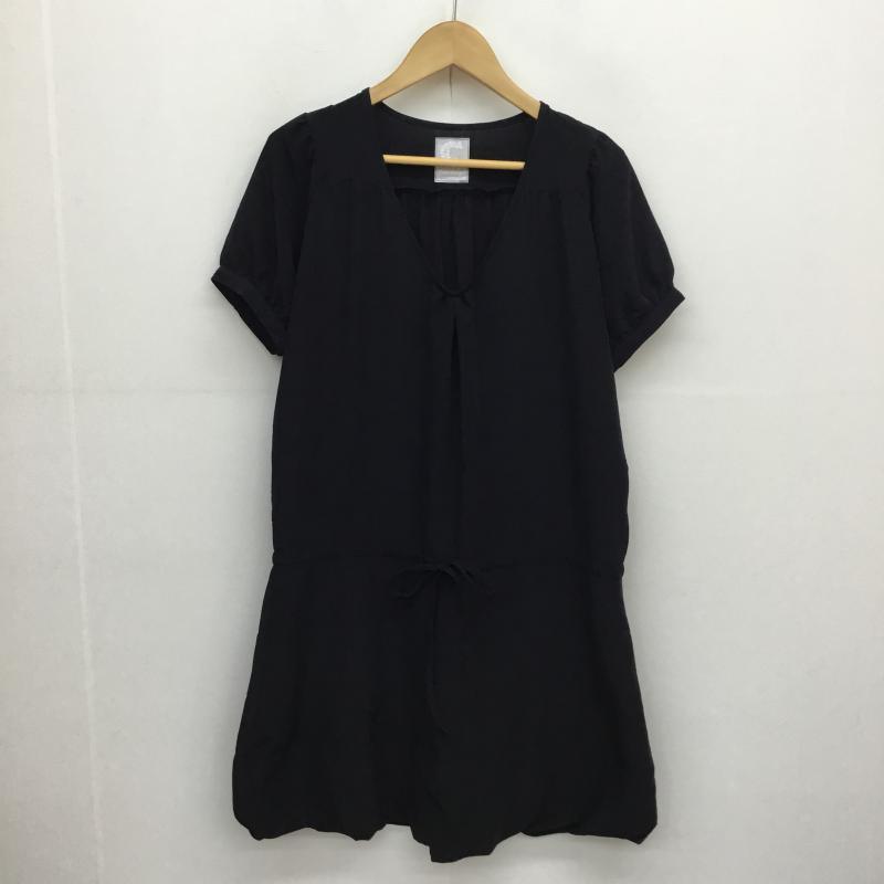 セポ cepo 表記サイズ:M 黒 ブラック ひざ丈スカート お気に入り ワンピース 10053781 One-Piece Skirt 古着 賜物 中古 USED Medium