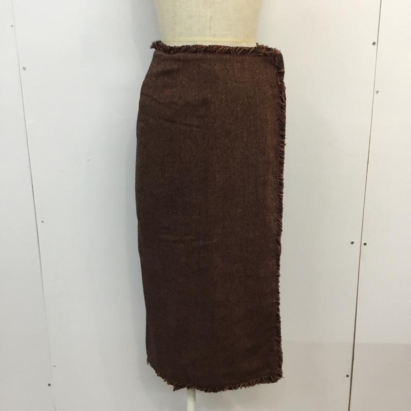 センス オブ プレイス バイ アーバンリサーチ SENSE OF PLACE by URBAN RESEARCH マルチカラー スカート 中古 即出荷 無地 表記サイズ:36 古着 10053951 ロングスカート USED 爆安プライス Long Skirt