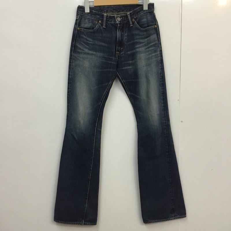 ザ フラットヘッド The Flat Head 表記サイズ:27インチ インディゴ 無地 デニム ジーンズ Denim 10054323 新発売 Trousers 中古 古着 パンツ 捧呈 USED Pants Jeans