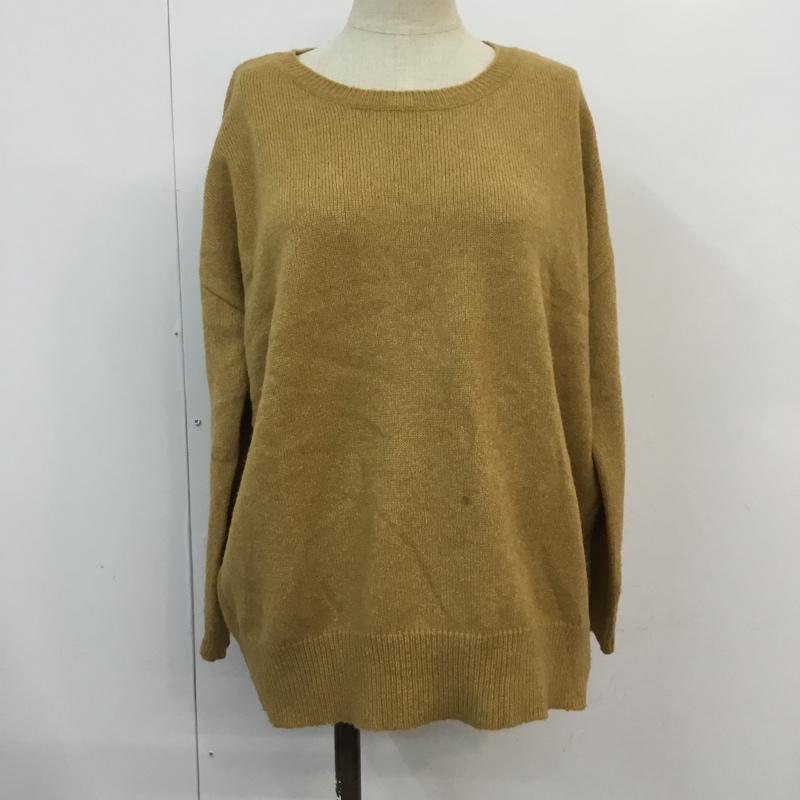 ケイビーエフ 定番スタイル KBF 表記サイズ:表記無し マルチカラー 無地 長袖 プレゼント ニット USED 中古 Sweater Knit 古着 セーター 10054452