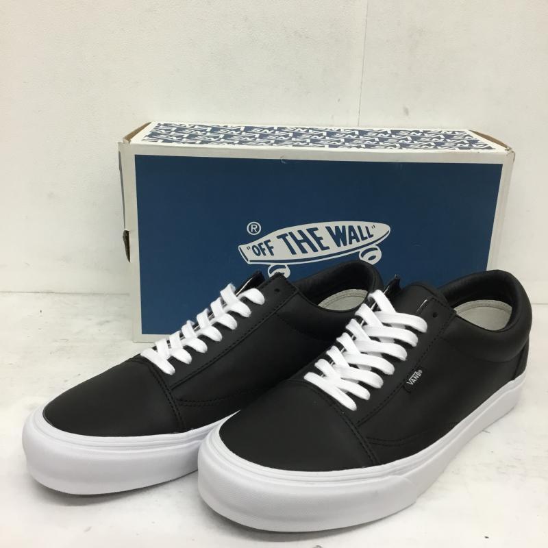 バンズ VANS 表記サイズ:US:11 黒 ブラック スニーカー Sneakers LEATHER 中古 OLD NS USED 入荷予定 Vlt 10054825 古着 格安店 SCHOOL