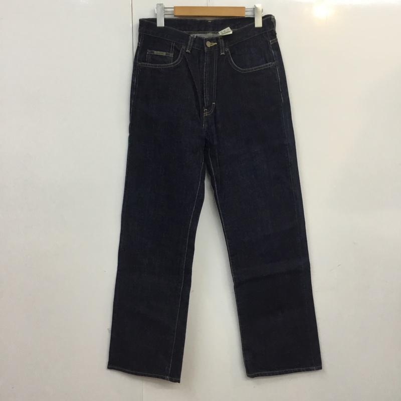 カルバン クライン Calvin Klein 激安 表記サイズ:31インチ インディゴ 無地 デニム ジーンズ USED 古着 中古 パンツ Denim Jeans Trousers 10055474 Pants 新作アイテム毎日更新