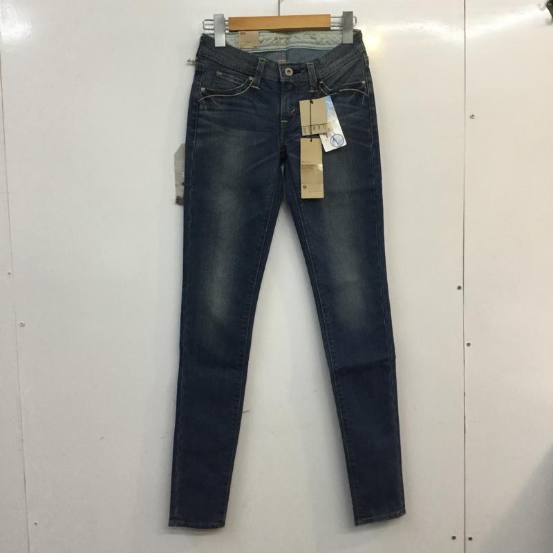 リーバイス Levi's 表記サイズ:表記無し インディゴ 無地 デニム ジーンズ パンツ Pants ファッション通販 Trousers USED 古着 Denim Demi タグ付 スキニーパンツ 人気 Curve Jeans 10055613 中古