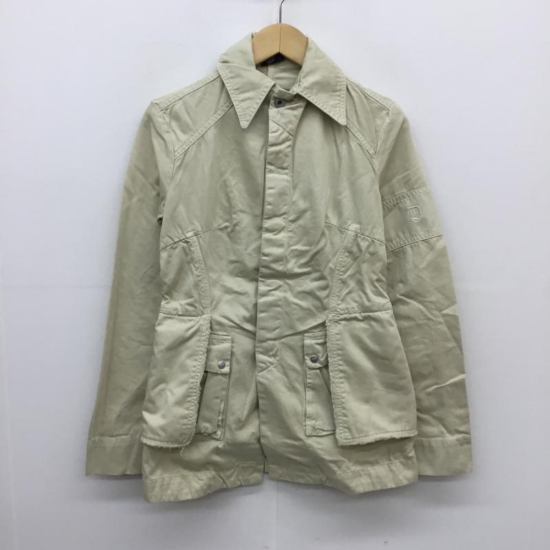 ディーゼル DIESEL 表記サイズ:S ベージュ ジャケット ブレザー 上着 舗 訳あり品送料無料 Jacket 古着 中古 10057486 USED