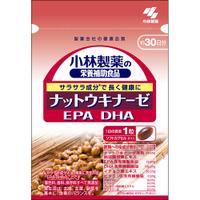 毎日の健康の維持にお役立てください 小林製薬 豪華な ナットウキナーゼ DHA EPA 新作からSALEアイテム等お得な商品満載 30粒