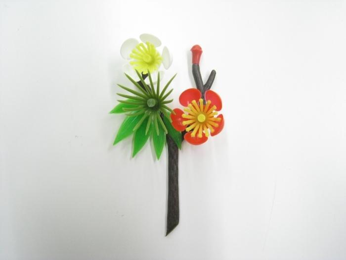 神圣的新年饰品松竹梅 shimekazari 材料起身材料完成饰品批发价格