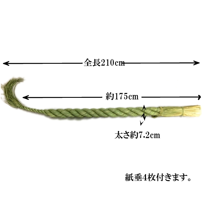 Shimenawa rope this straw