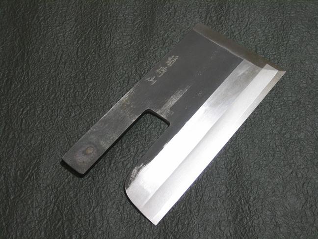 白鋼 麺切(そば切り)庖丁8寸【専門のそば打ちに!】