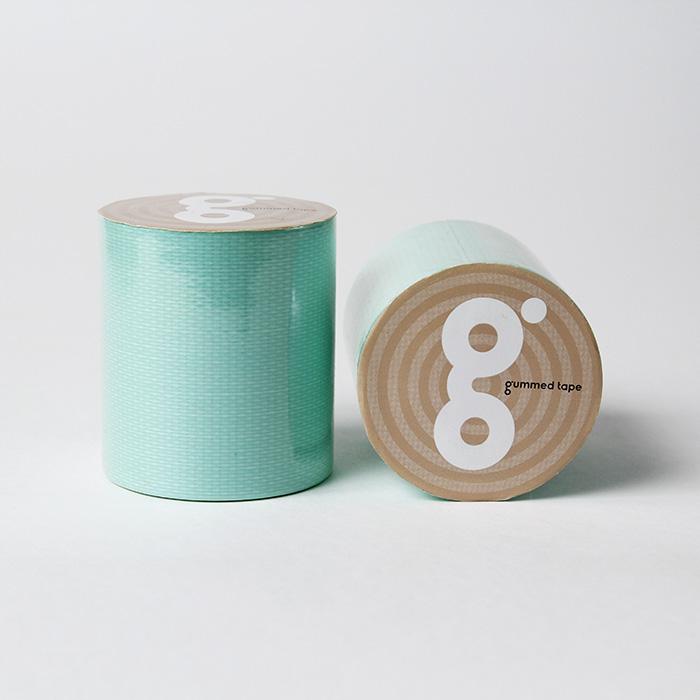 パステルグリーン パステル グリーン 50mm×5M かわいい 超歓迎された ガムテープ 布粘着テープ 手で切れる 工作 DIY 梱包 送料無料 図工 ハンドメイド ラッピング 品質保証
