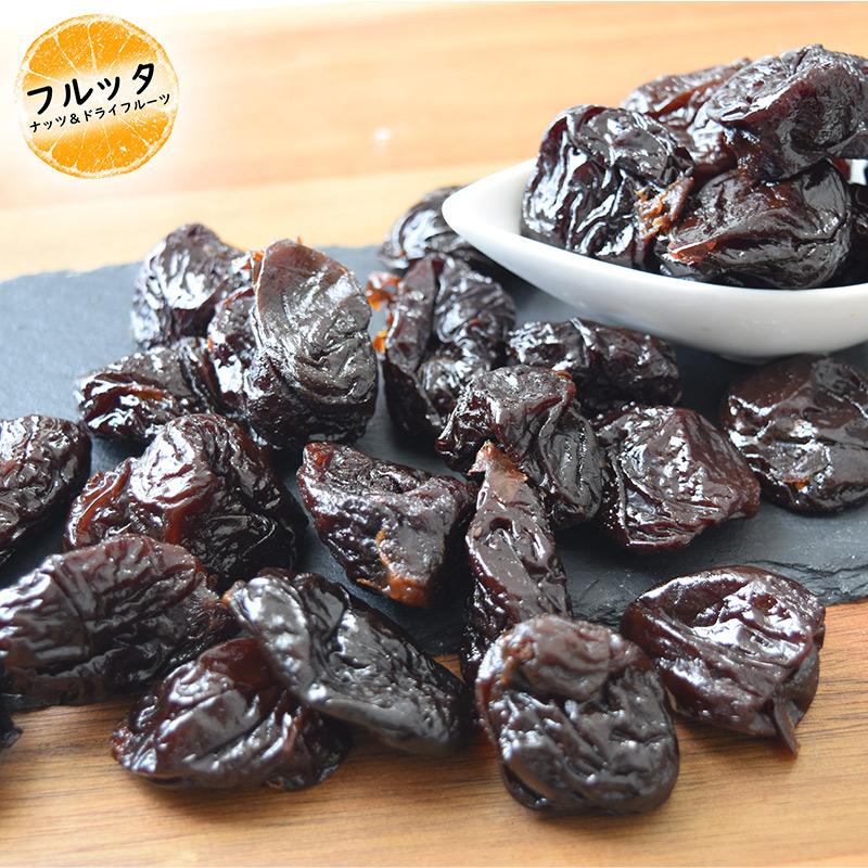 ドライフルーツ ノンオイルプルーン  1kg (500gx2袋 チャック付き) 種なし お得な大容量パック 無加糖・無油 カリフォルニア産 フルッタ