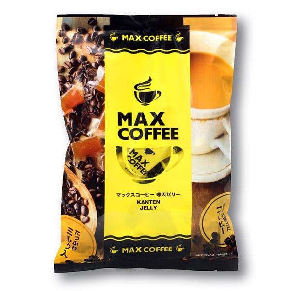 人気の定番 たっぷりミルクと程よい甘みを寒天で表現 MAX COFFEE寒天コーヒー 寒天 おやつ 鈴木コーヒー 18%OFF 大人 千葉 甘口 寒天ゼリー