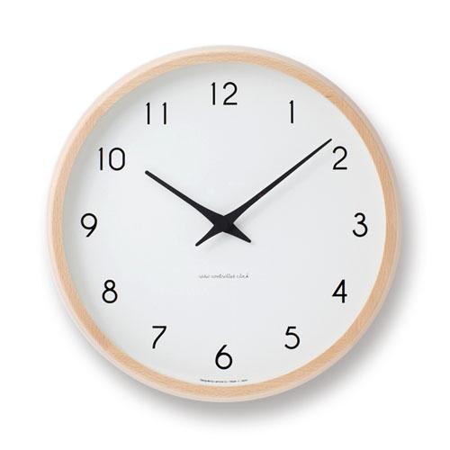 即納可 送料無料 ギフトラッピング無料 正規品 1年間保証付 Lemnos Campagne レムノス 離島は除く 電波時計 ナチュラル カンパーニュ smtb-TD 沖縄県 壁掛け時計 超安い 新登場 ベージュ