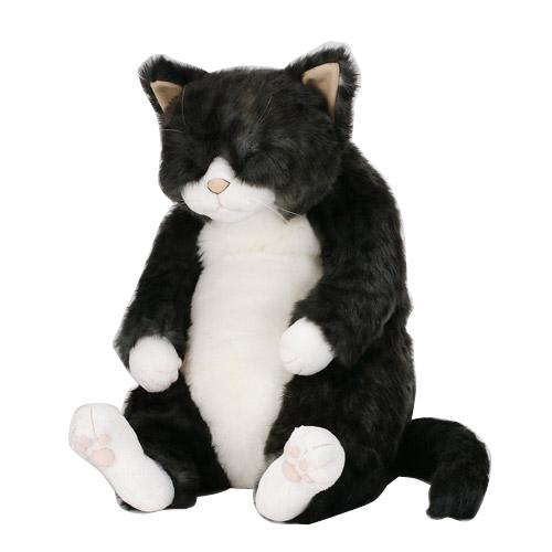 Cuddly(カドリー) ねこのぬいぐるみ 猫の「ソメゴロー」 灰トラ【(沖縄県・離島は除く)】【smtb-TD】【saitama】