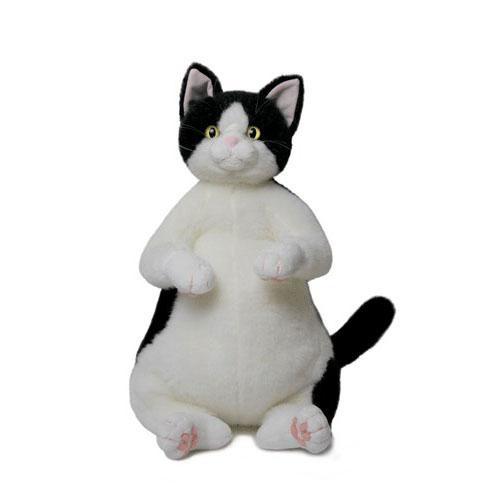 Cuddly(カドリー) ねこのぬいぐるみ 猫の「タマ子/Tamako」白黒 ハチワレ ゴールドアイ【送料無料(沖縄県・離島は除く)】【smtb-TD】【saitama】