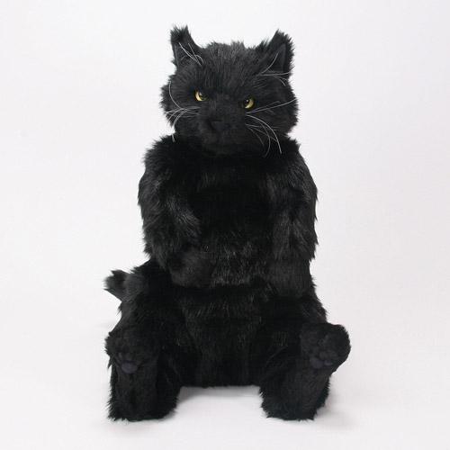 Cuddly(カドリー) ねこのぬいぐるみ 黒猫 茶々丸II 【smtb-TD】【saitama】