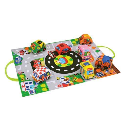 ギフトラッピング無料 K's 奉呈 Kids ケーズキッズ カーズインタウン 売却 布製車のおもちゃ メール便とネコポスは不可 宅配便配送 知育玩具