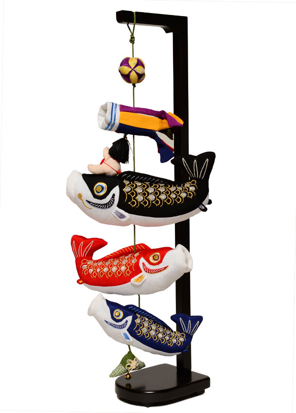 【五月人形】【室内鯉のぼり】【つるし飾り】鯉物語(小)【こいのぼり】
