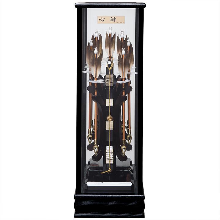 【初節句】【破魔矢】10号 心絆《楓》[KAEDE]鏡バックケース:COCONA【正月飾】【破魔弓】