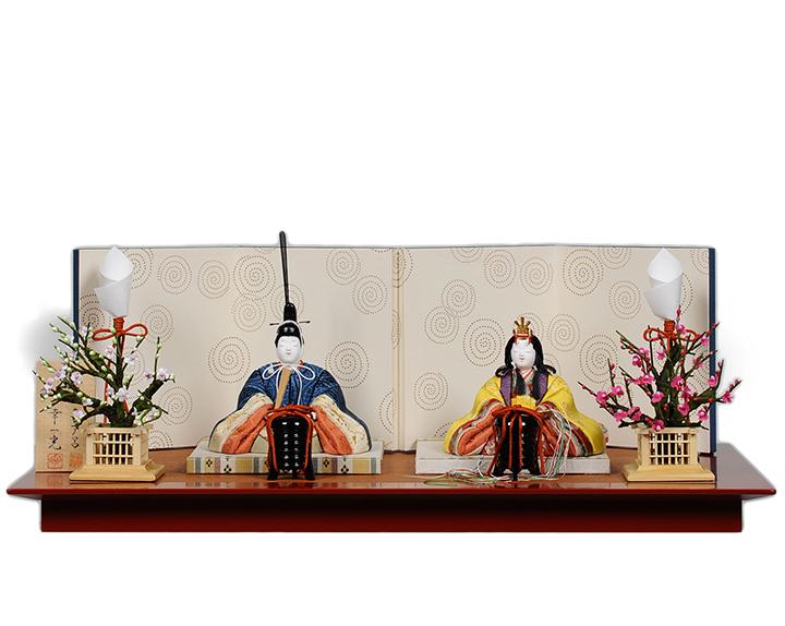 日本全国送料 手数料無料 真多呂 幸一光 江戸木目込代表作家夢のコラボ 木目込 雛人形 品質検査済 木目人形:天宝雛:真多呂 木目込親王飾 ついに再販開始 幸一光作 ひな人形