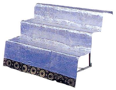 三段祭壇(白布付) 30号
