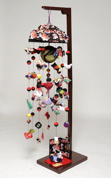 【五月人形】つるし飾り 一寸法師:大【つるし雛】【皐月の吊るし雛】
