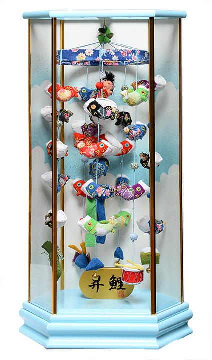 【五月人形】【つるし飾り】五月つるし雛昇鯉「Shori」【室内鯉のぼり】【端午の吊るし飾り】