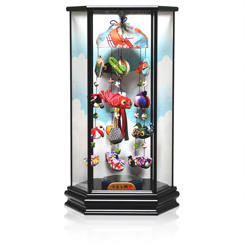 【五月人形】【つるし飾り】鯉のぼりと縁起の吊るし【室内鯉のぼり】【端午の吊るし飾り】
