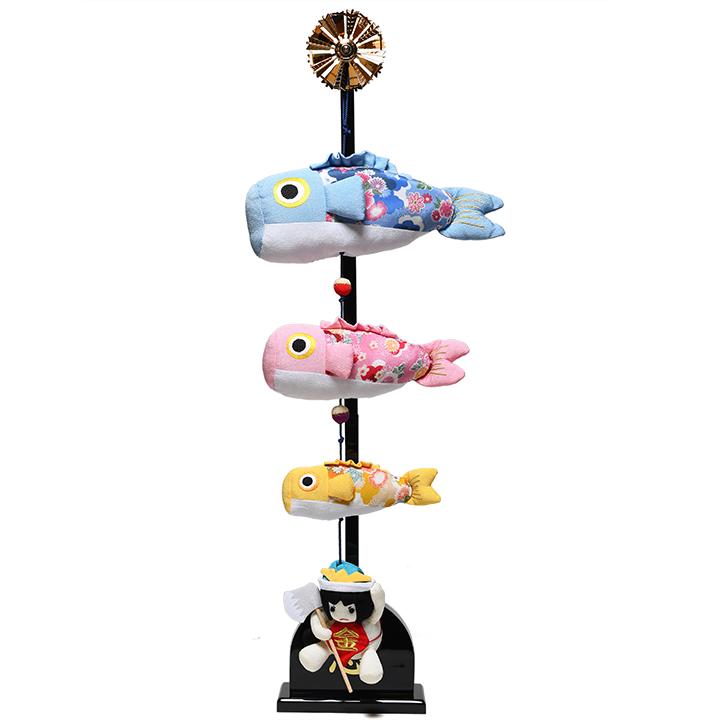 【名前旗】名入りチリメン室内鯉のぼり【五月人形】【室内鯉のぼり】