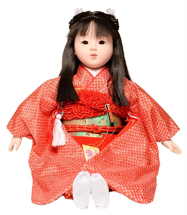 【市松人形】【雛人形】13号座市松【大正ロマン】:公司作【ひな人形】【浮世人形】