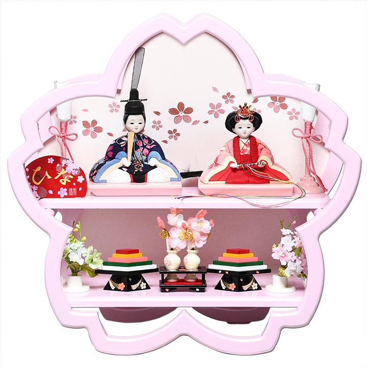 【雛人形】【木目込親王飾】木目込人形:SAKURA さくら:美光作【ひな人形】