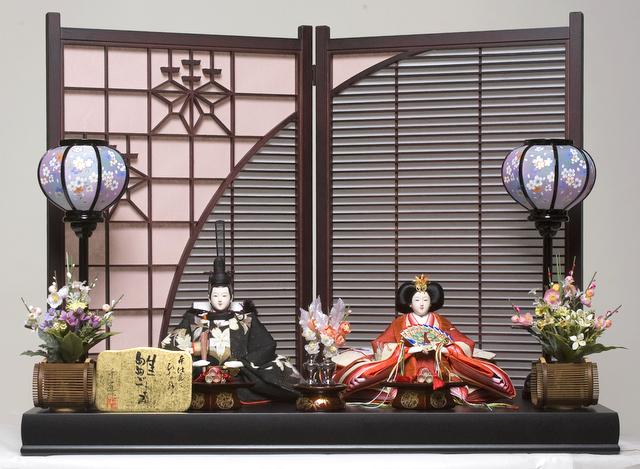 【ひな人形】京十番親王飾:京洛雛:千匠作【雛人形】【親王飾】