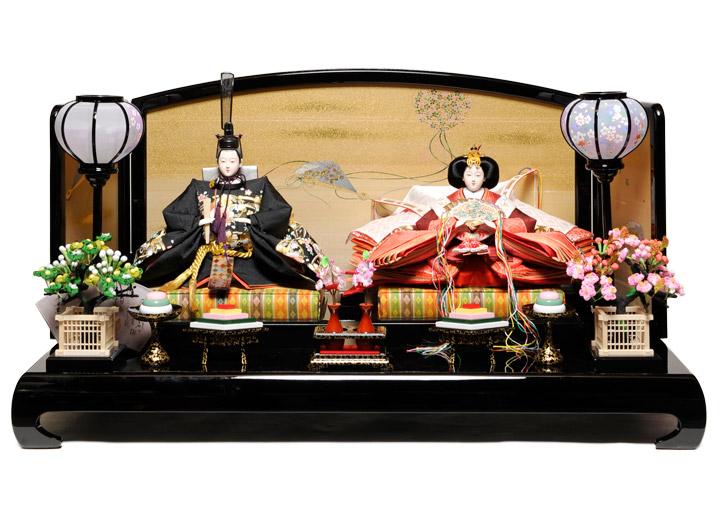 【ひな人形】 京十番親王飾:翔鶴雛:平安翠泉作【雛人形】【親王飾】