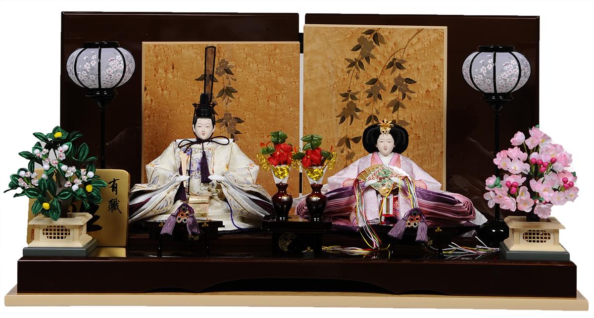 【ひな人形】京十番親王:茉夕雛:翠泉作【雛人形】