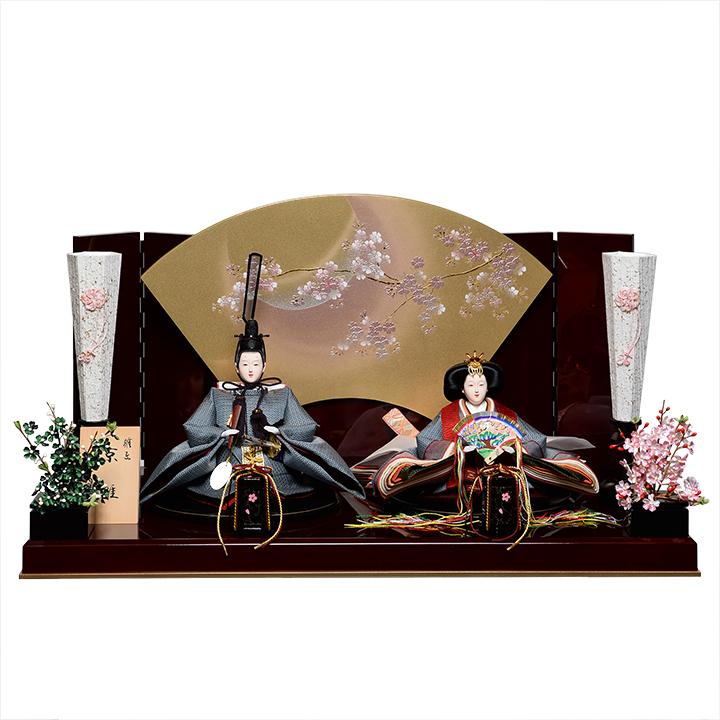 【日本全国送料・手数料無料!!】【人形の伏見屋】 【ひな人形】京小十番親王:有職雛:雅泉作【雛人形】【親王飾】