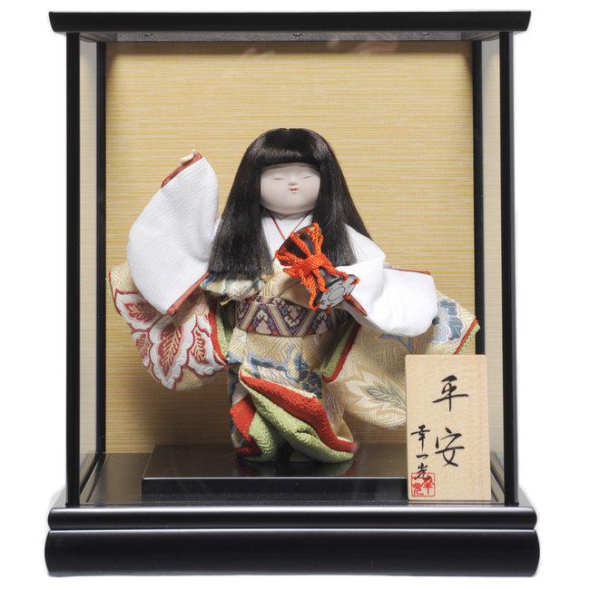 【わらべ人形】浮世・御所 6号平安御所 鼓:幸一光作【ひな人形】【浮世人形】