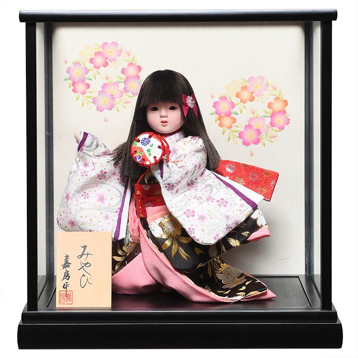 【浮世人形】【わらべ人形】【浮世・御所】7号みやび :嘉房作【ひな人形】【浮世人形】