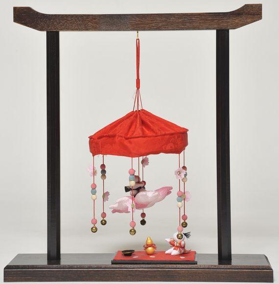 【ひな人形】つるし雛 卓上タイプ吊るし雛:桜の宴【吊るし雛】
