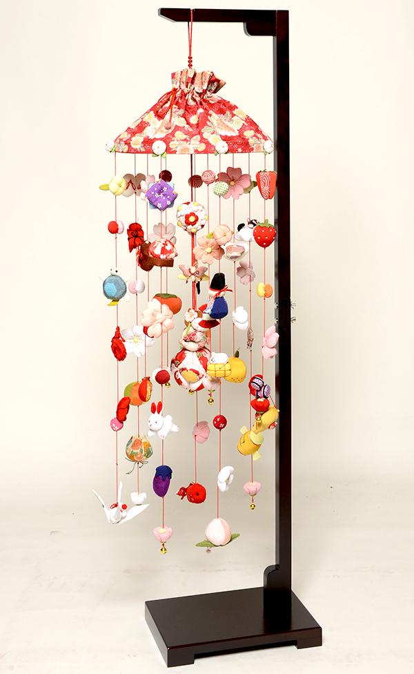 【ひな人形】童の花あそび飾 :大【吊るし雛】