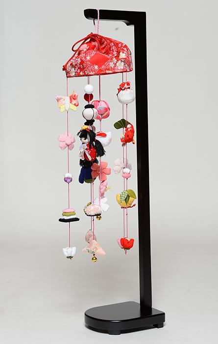 【雛人形】【つるし雛】宴つるし雛(赤)小【吊るし雛】【ひな人形】