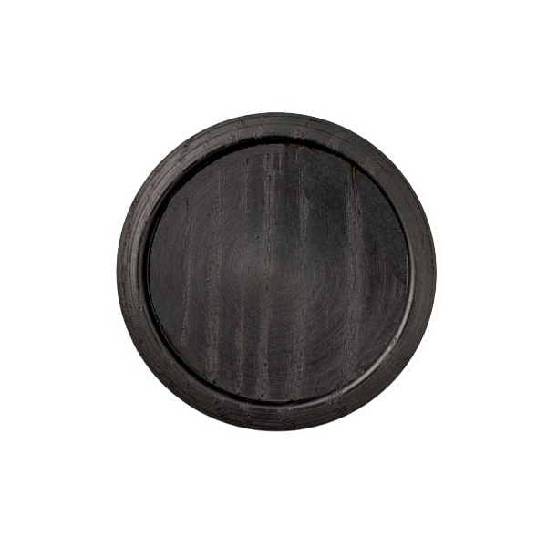 ふすま引手木製黒丸 店内限界値引き中&セルフラッピング無料 和室出入口 押入用 黒枠 激安セール 椽 木製黒丸 大 によく合うタイプです 木工用ボンドで取付けられます